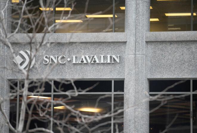 Siège de SNC-Lavalin à Montréal. © Reuters