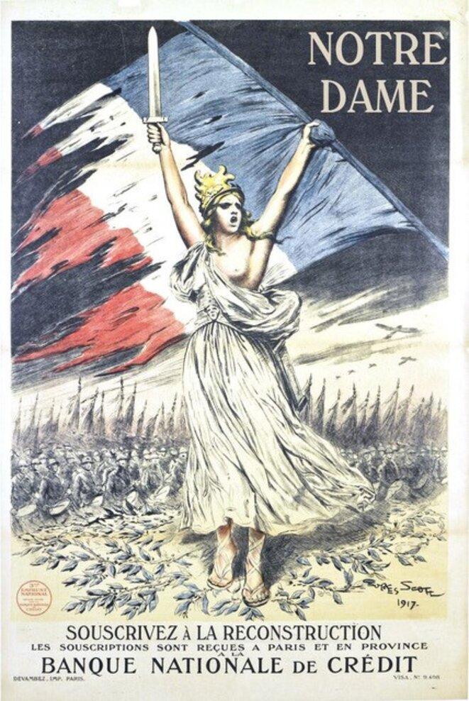 Détournement d'une affiche de 1914-18 (A. Perry)