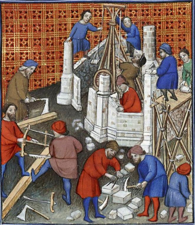 Enluminure du « Titus Livius, Ab Urbe condita », Français 263, BnF département des manuscrits, début XVe siècle.