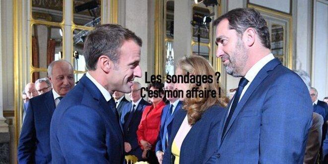 Macron et Castaner © Pierre Reynaud
