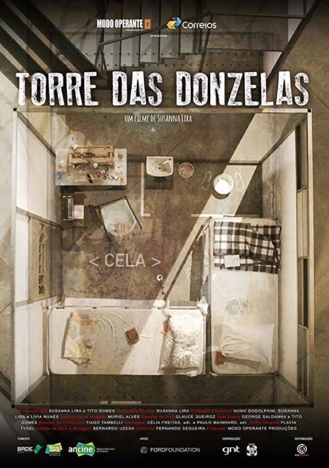 Affiche Torre das Donzelas_La Tour des Demoiselles © Susanna Lira pour le Festival du Cinéma brésilien de Paris 2019
