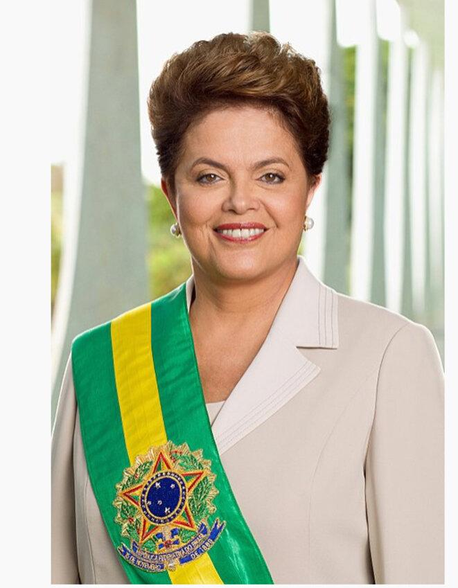 Dilma Rousseff, ex-présidente du Brésil entre 2011 et 2016 © Dilma Rousseff (Wikipedia)