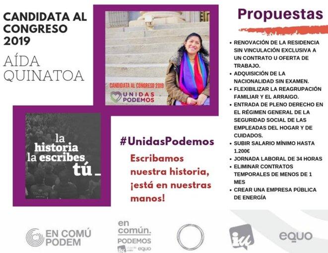 Campaña politica Aida