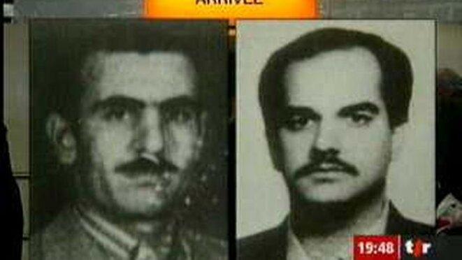 Deux des assassins de Kazem Radjavi arrêtés puis renvoyés en Iran