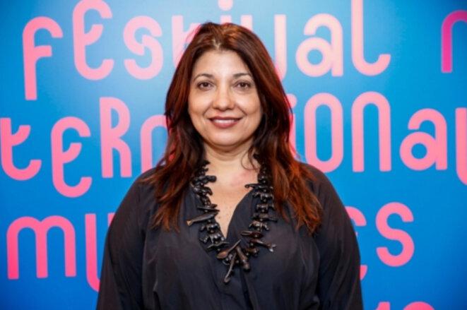 Susanna Lira, réalisatrice de Torre das Donzelas, La Tour des Demoiselles © Festival internacional de Mulheres no Cinema 2018