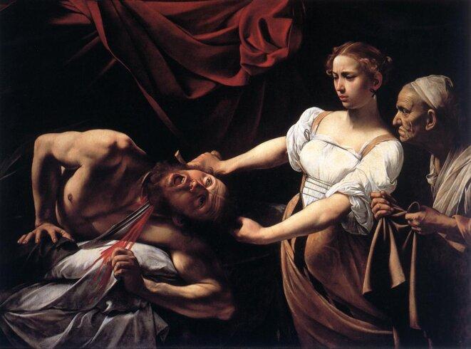 «Judith décapitant Holopherne» par Le Caravage.