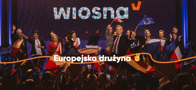El « equipo europeo ». © Web de Wiosna