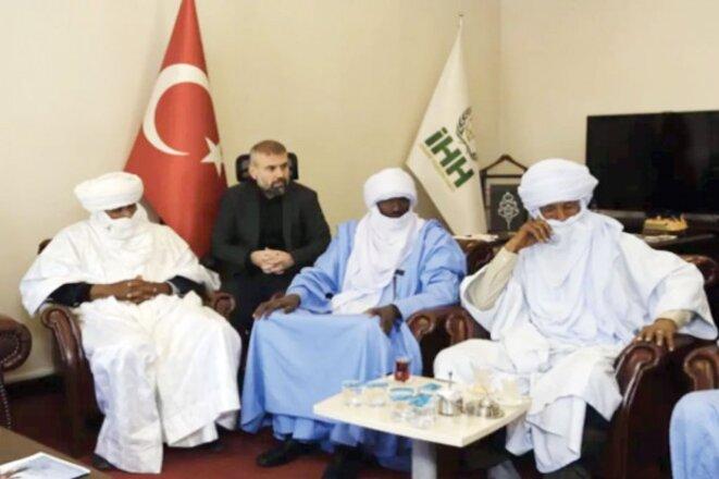 Rencontre entre turcs et groupes armés libyens