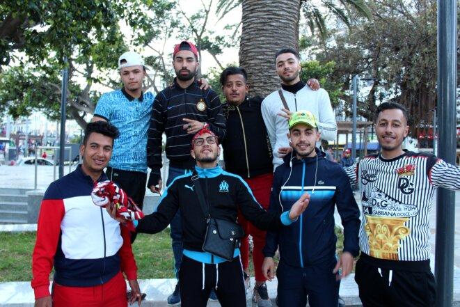 Hamza, Amine, Zino et leurs amis ont tous tenté de partir au moins une fois. © NB