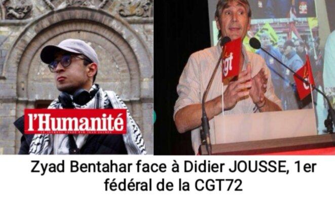 Zyad BENTAHAR face à Didier JOUSSE © Mb