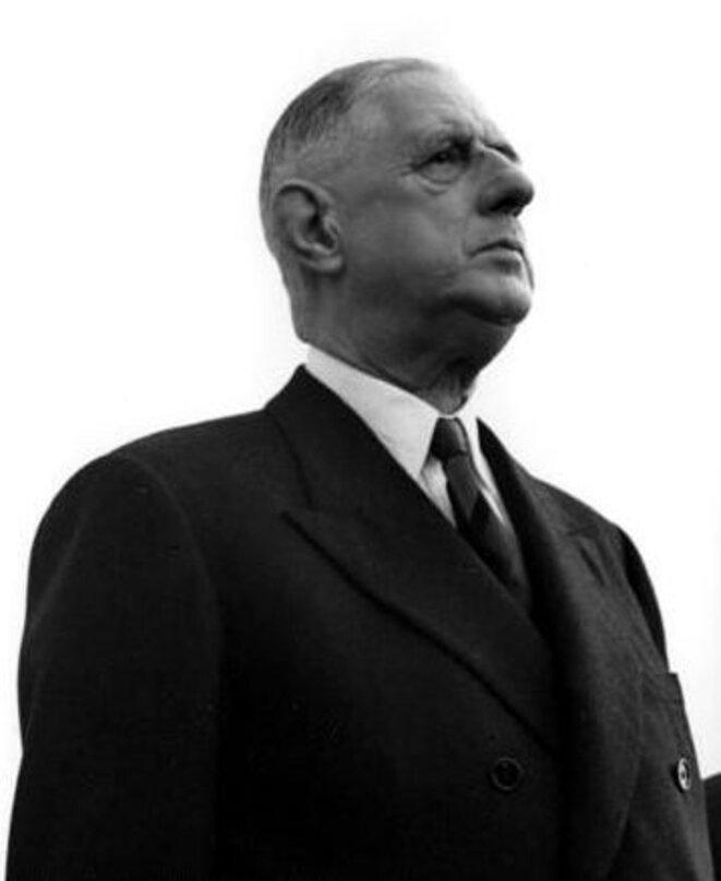 Charles de Gaulle en 1961 © Bundesarchive / Wikimedia Commons