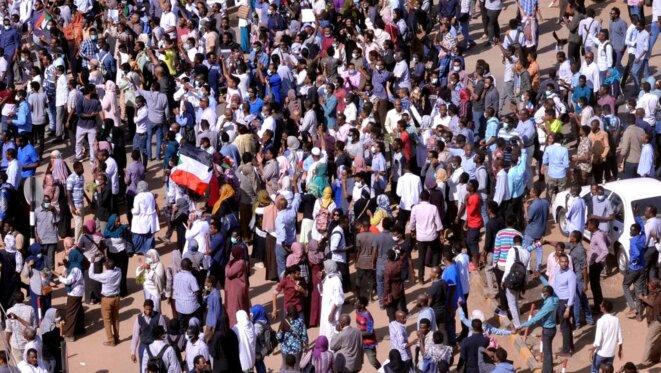 Manifestations à Khartoum le 25 décembre 2018 (illustration). © REUTERS / Mohamed Nureldin Abdalla