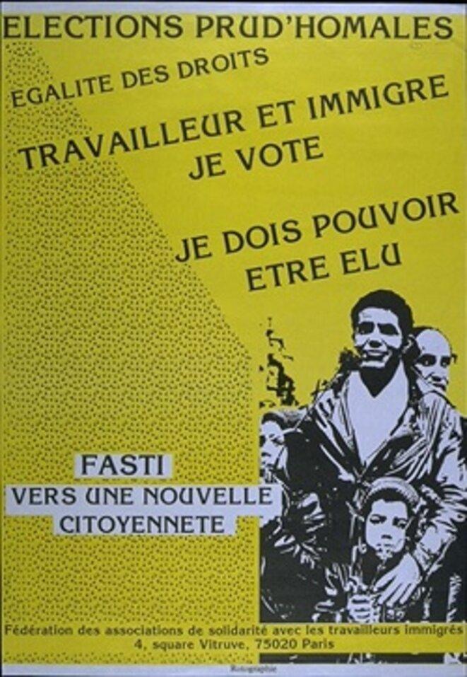 Affiche de 1987 © Fasti