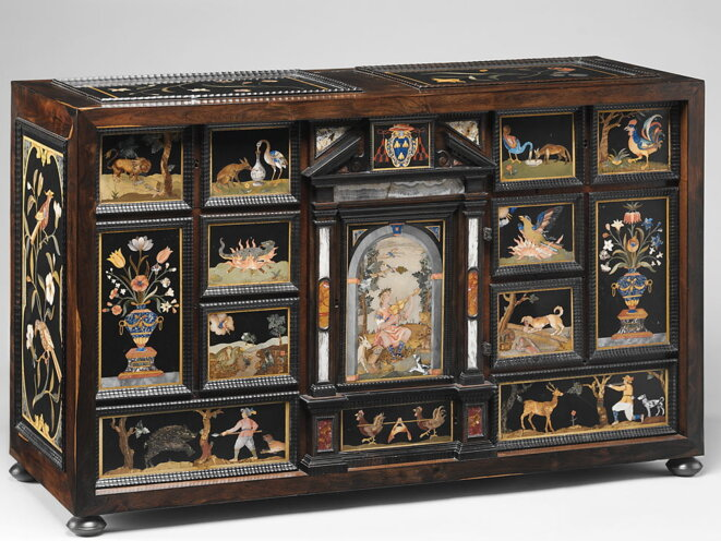 Le Cabinet Barberini, Florence, c. 16O3°26, The Metropolitan Museum of Art, New Yok