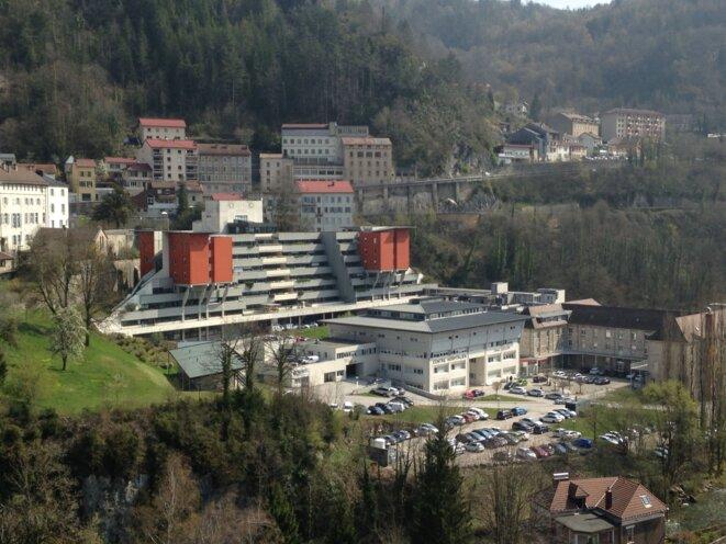 L'hôpital public de Saint-Claude. © CCC