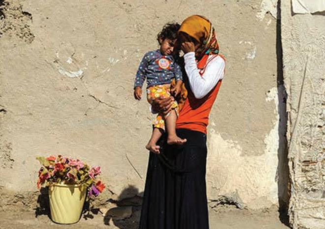 la pauvreté des femmes en Iran