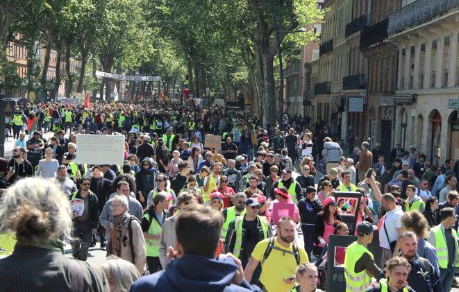 Le 1er Mai 2019, à Toulouse. © MR