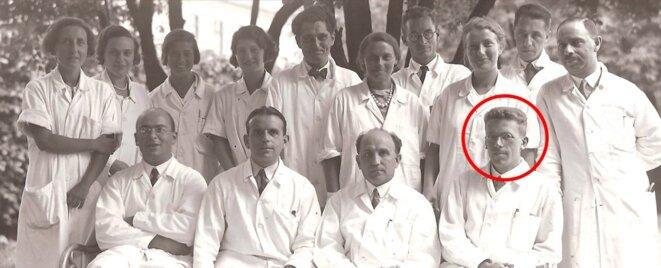 Hans Asperger dans son service