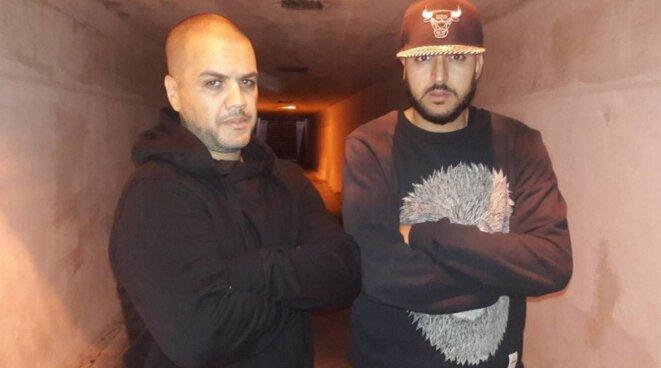 Mehdi K-LIbre en compagnie de Aminoffice