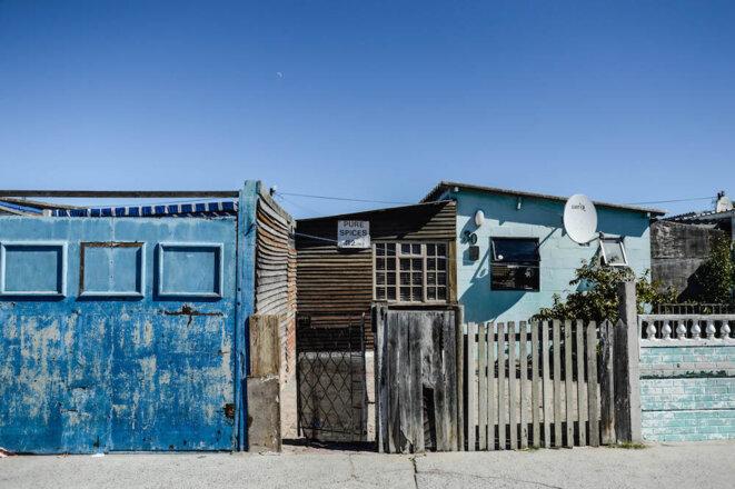"""Mitchell's Plain, le plus grand township """"coloured"""" des Cape Flats. © Lina Rhrissi"""