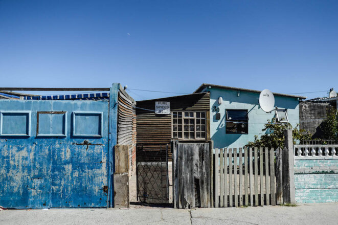 "Mitchell's Plain, le plus grand township ""coloured"" des Cape Flats. © Lina Rhrissi"