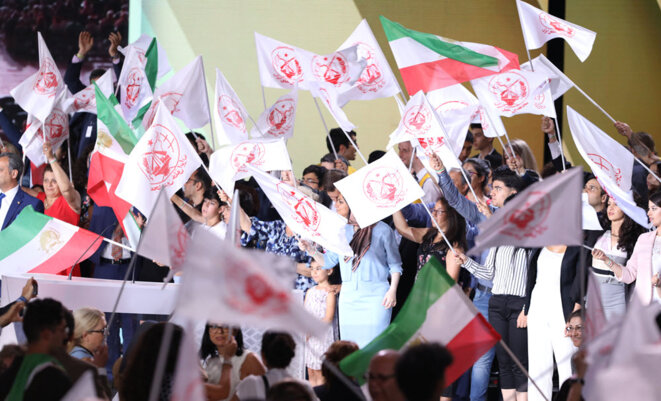 L'OMPI repose sur une vaste base populaire en Iran et à l'étranger