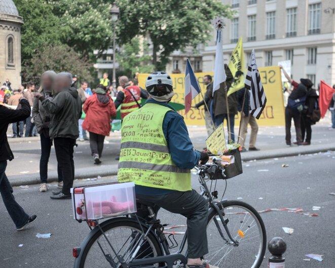 Manif 1er mai à vélo
