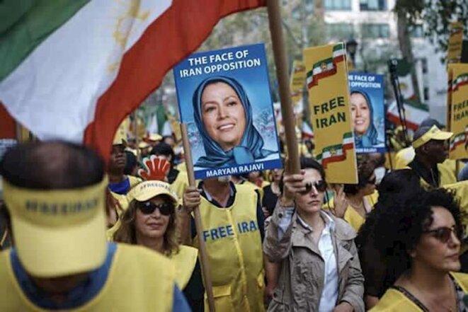 Manifestation en soutien à l'OMPI aux USA