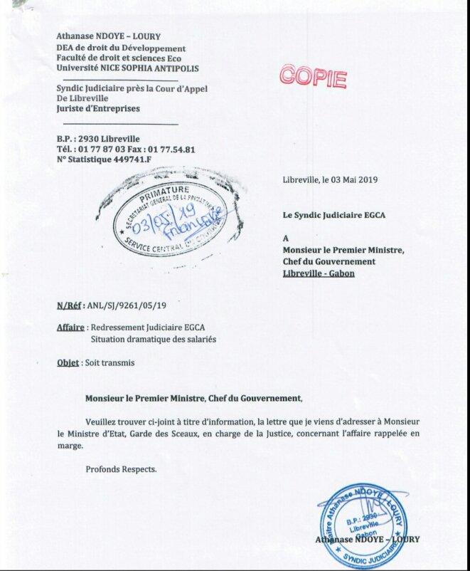 Julien Nkoghe Bekale ne peut pas ne pas réagir...