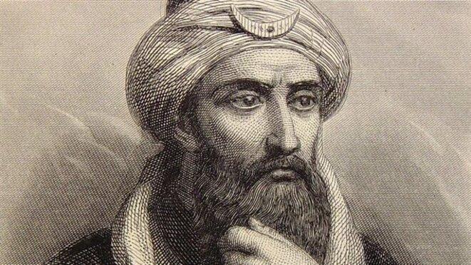 Le sultan Saladin, artisan de la reprise de Jérusalem aux croisés (1187), kurde d'origine