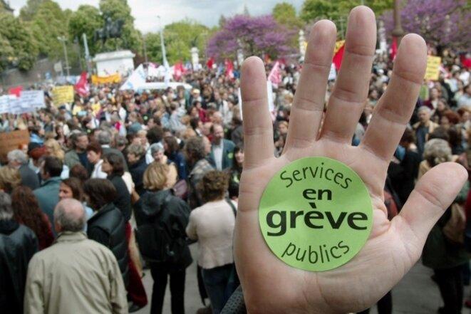 Services publics en grève