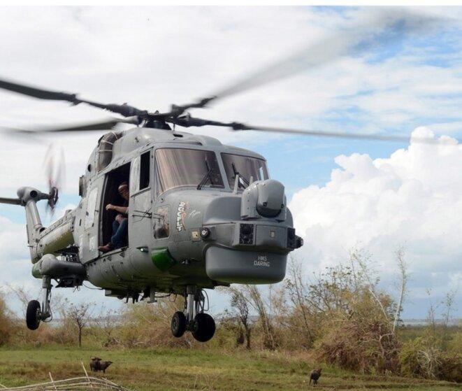 Hélicoptère armée à usage mixte, transports et assauts, comparez avec l'image en dessous, achetée par le Président Malgache.