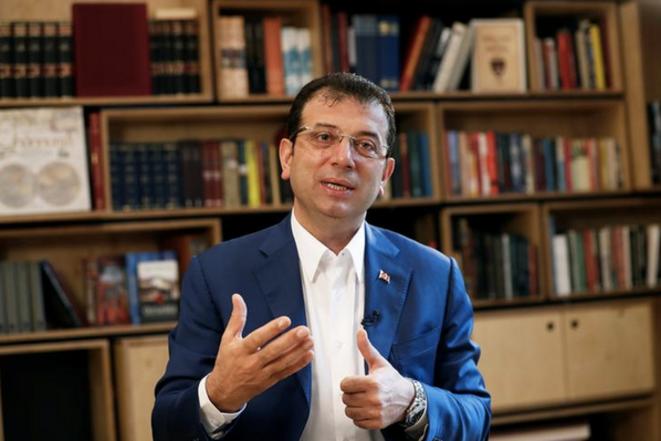 Ekrem Imamoglu, le 9 mai 2019 à Istanbul, après l'annulation de son élection. © REUTERS/Murad Sezer
