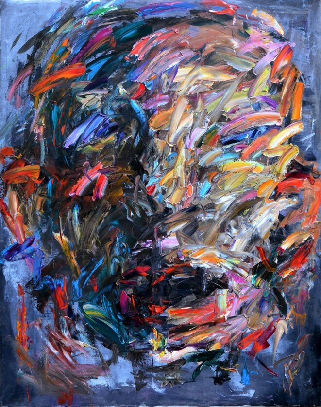 Kazem Un Artiste Peintre Syrien Le Club De Mediapart