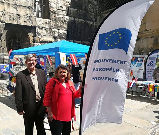 Comme à l'accoutumée, nos amis du Mouvement Européen Provence ont répondu présent.