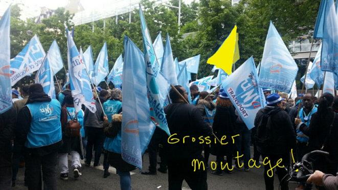 manifestation de fonctionnaires du 9 mai 2019: rien à signaler