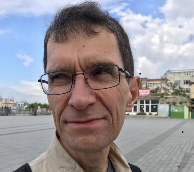 Le mathématicien Tuna Altinel vit en France depuis 23 ans. © Barış İçin Akademisyenler