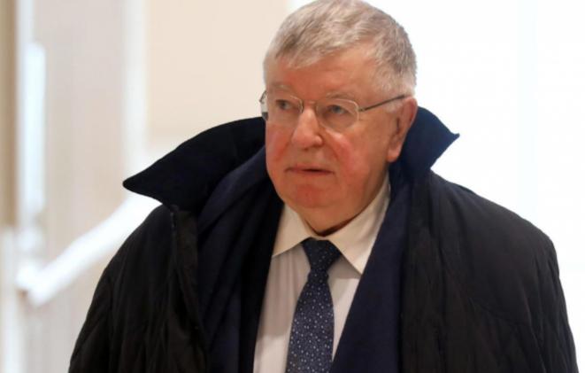 Didier Lombard, ex-PDG de France Télécom, à son arrivée au procès. © Reuters/Richard Platiau