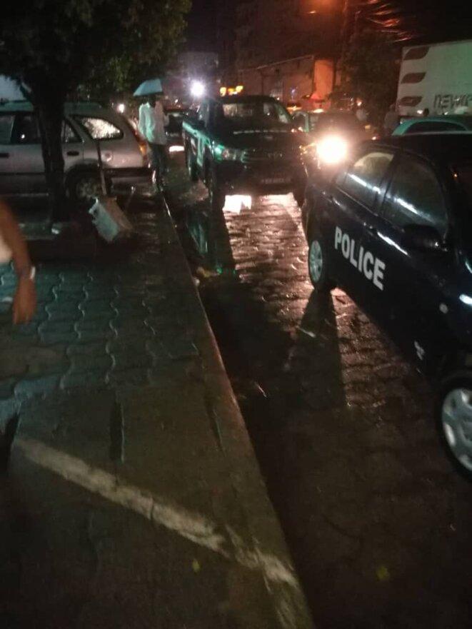 La police du commissaire Essogo en opération illégale