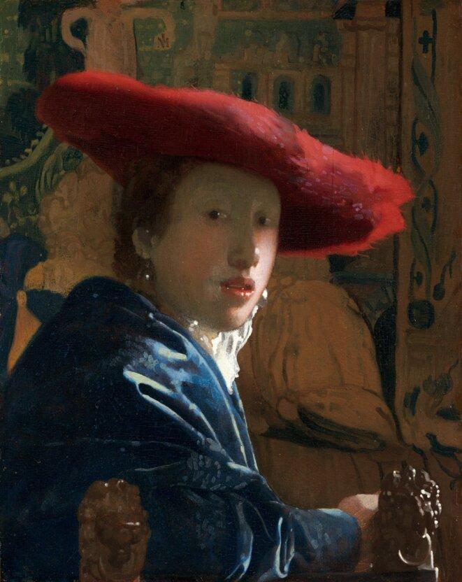 """""""Jeune fille au chapeau rouge"""""""