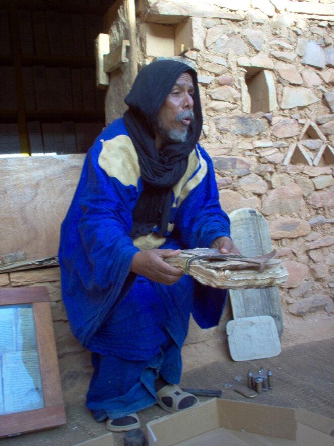 Bibliothèque du désert, Chinguetti, Mauritanie