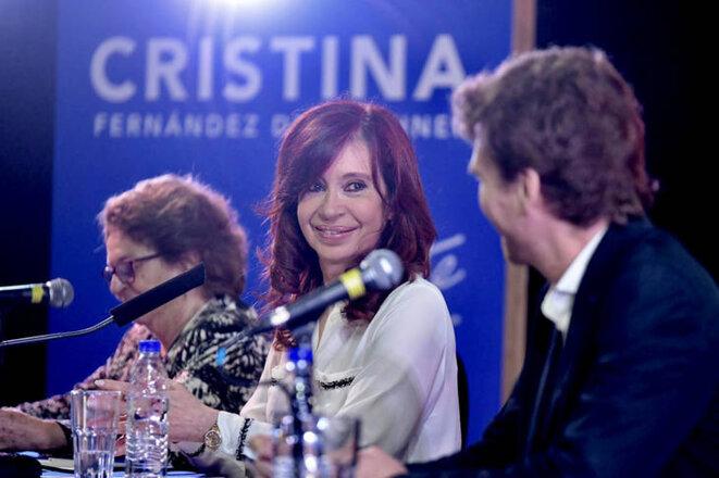 Cristina Kirchner au Salon du livre en Argentine © Tiempo Argentino