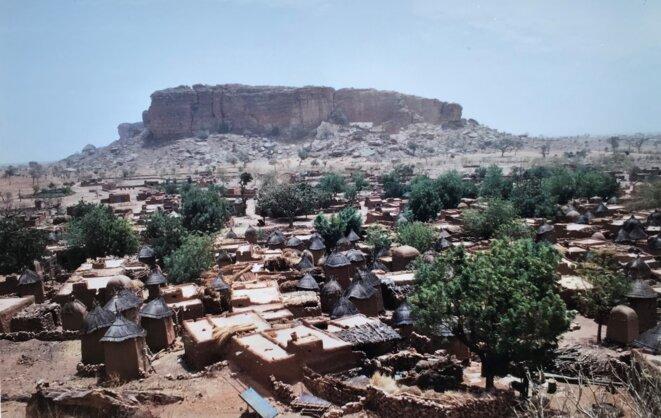 Songho, village dogon.