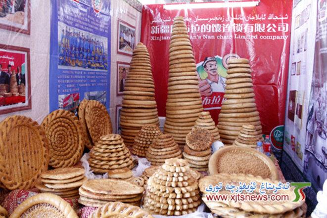 Les Ouïghours ont une très riche culture de pains.
