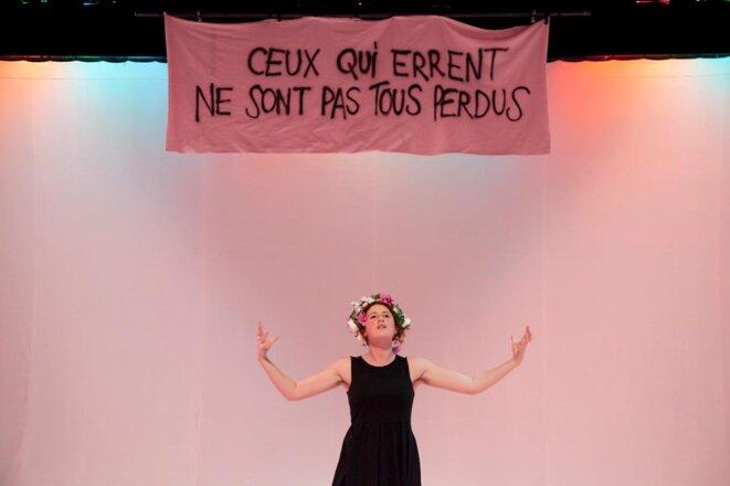 Fire of émotion : Genesis de Pamina de Coulon - Festival Soli | Comédie de Genève, 30 avril - 12 mai 2019 © Nelly Rodriguez