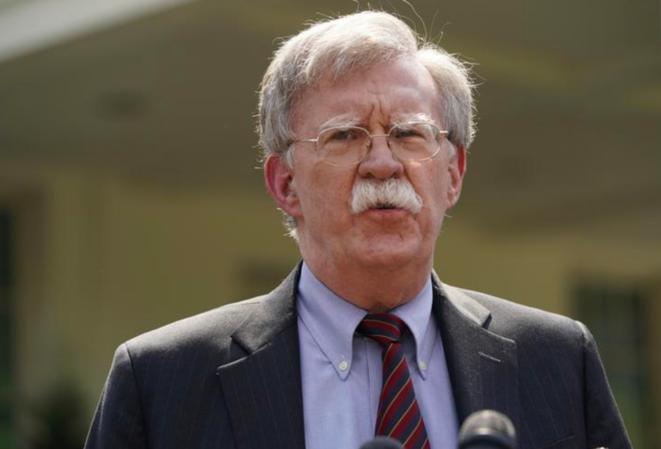 John Bolton, à la Maison Blanche, le 30 avril 2019. © Reuters