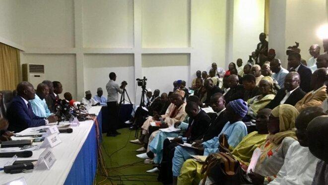Dialogue politique au Sénégal