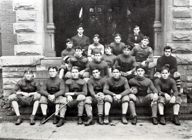 Les Tigers de Clemson, équipe de football représentant le Clemson College (Public School), en 1905