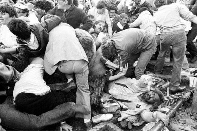 Le drame du Heysel, le 29 mai 1985 au stade Heysel (depuis, Roi Baudouin) à Bruxelles | © Reuters