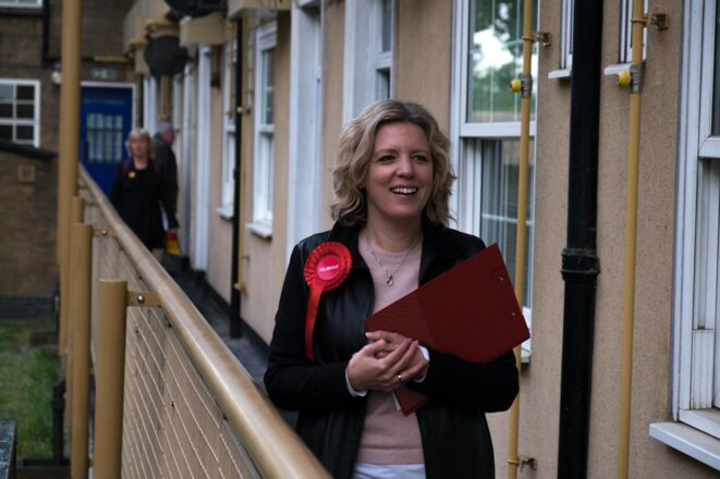 Laura Parker, candidate aux européennes pour le Parti travailliste. © Labour